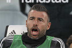 May 3, 2019 - Turin, Piedmont, Italy - Andrea Barzagli (Juventus FC) before the Serie A football match between Juventus FC and Torino FC at Allianz Stadium on May 03, 2019 in Turin, Italy..Final results: 1-1. (Credit Image: © Massimiliano Ferraro/NurPhoto via ZUMA Press)