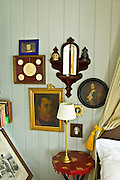 The Napolean Room at the traditional Quay House Hotel, Clifden, County Galway, Ireland