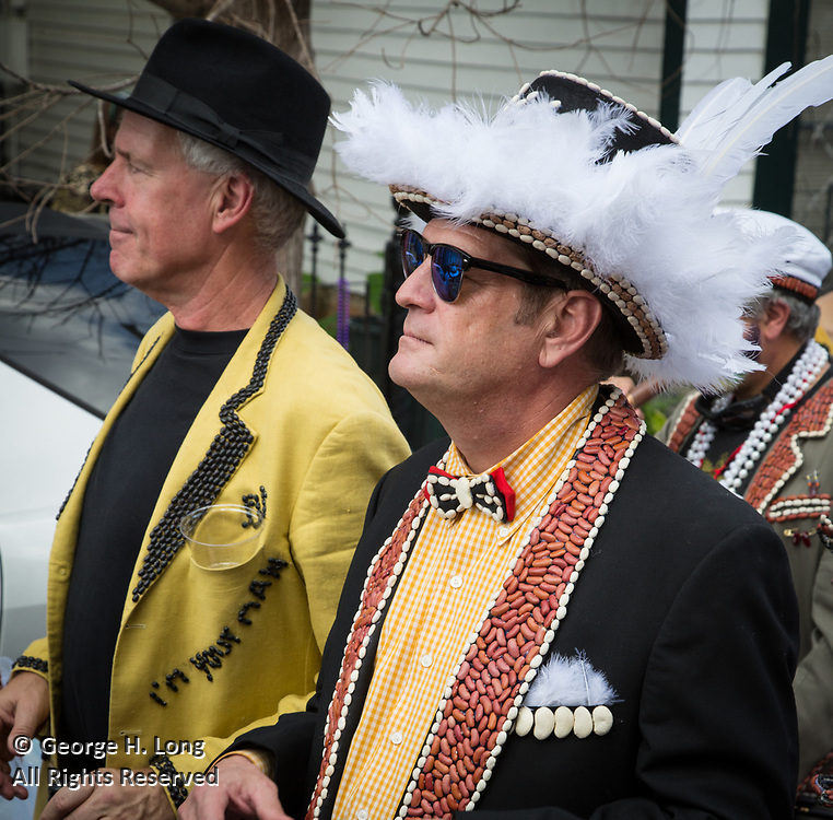 Red Beans Parade on Lundi Gras 2017 in Faubourg Marigny