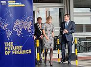 Queen Maxima attend congres FMO, Katwijk 26-09-2016