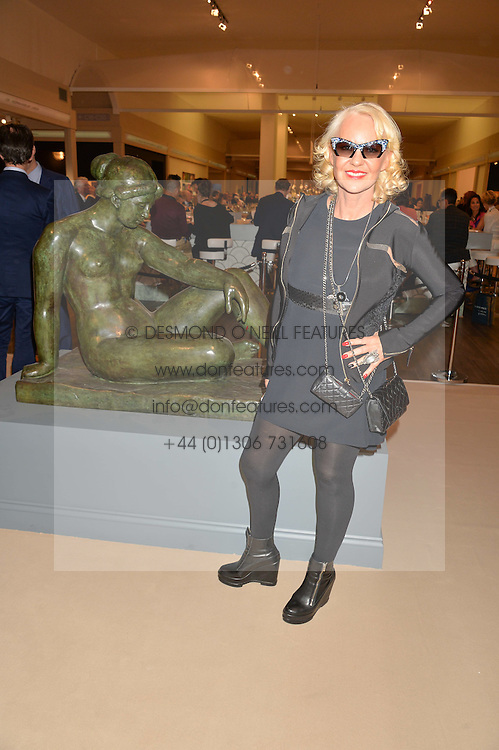 AMANDA ELIASCH at the private preview of Masterpiece 2015 held at the Royal Hospital Chelsea, London on 24th June 2015.