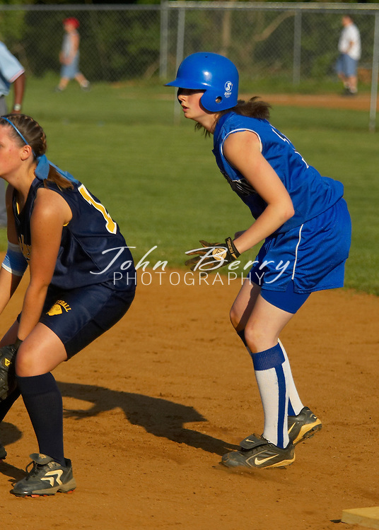 MCHS Varsity Softball vs Rappahannock, District Tournament Finals, Saturday, May 28, 2005