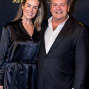 NLD/Amsterdam/20191009 - Uitreiking Gouden Televizier Ring Gala 2019, Dirk Zeelenberg en partner Suus Schenk