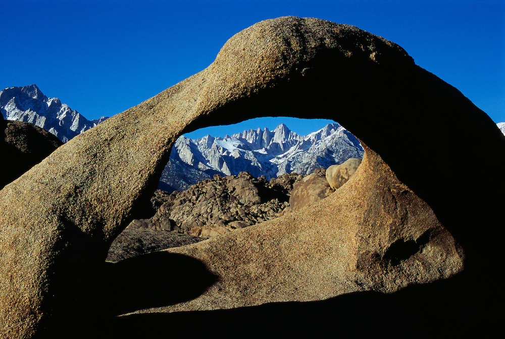 USA, California, Lone Pine through Alabama Arch