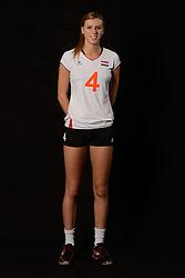 28-06-2013 VOLLEYBAL: NEDERLANDS MEISJES VOLLEYBALTEAM: ARNHEM <br /> Selectie Jeugd Oranje meisjes seizoen 2013-2014 / Britt Bongaerts<br /> ©2013-FotoHoogendoorn.nl