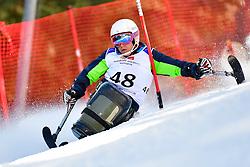 SLIVNIK Jernej, LW12-1, SLO, Slalom at the WPAS_2019 Alpine Skiing World Cup Finals, Morzine, France