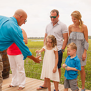 Images of Lilly's ceremony with Janet and Jackie at Mingo Point on Kiawah Island near Charleston, South Carolina.