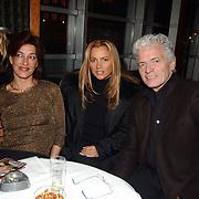 Start showboat rederij Lovers, Carla van der Waal, Ben Cramer en Tatjana Simic