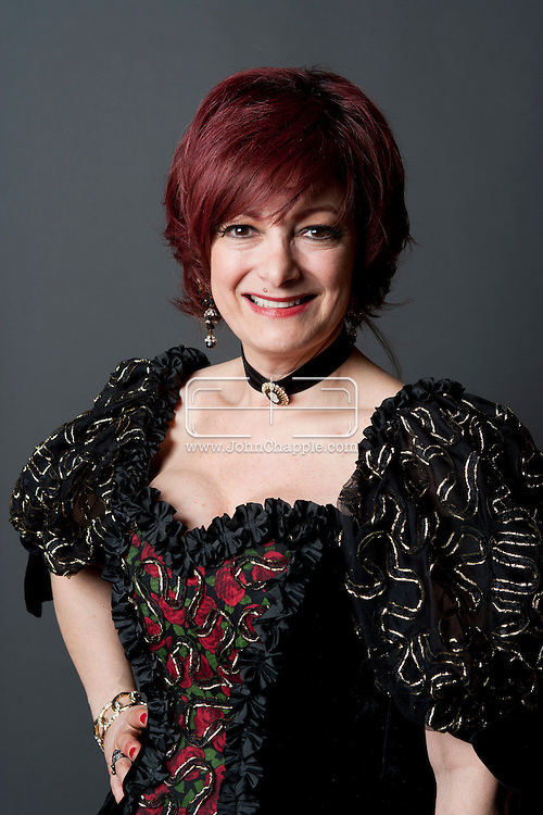 February 20th, 2012, Las Vegas, Nevada. The 21st Annual Reel Awards in Las Vegas where celebrity lookalikes show off their talents. Pictured here is Caroline Bernstein as Sharon Osbourne..PHOTO © JOHN CHAPPLE / www.johnchapple.com.