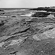Point Lobos Reserve, California. Weston Beach. Black and White Medium Format Photography. Kodak T-Max 100, Hasseblad Superwide. Photo taken approx. May 2005.