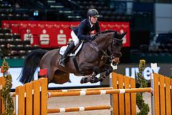LÜNEBURG Rasmus (GER), Corniola<br /> Leipzig - Partner Pferd 2019<br /> Eröffnungsspringen<br /> 17. Januar 2019<br /> © www.sportfotos-lafrentz.de/Stefan Lafrentz