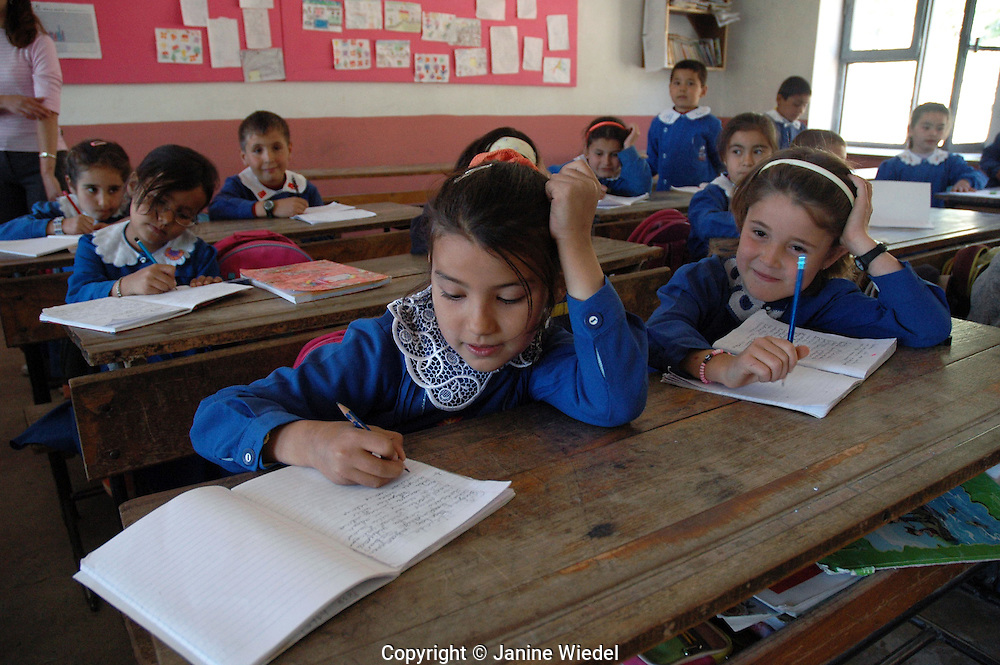 Turkish village primary school