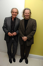 Left to right, GERALD SCARFE and WAYNE EAGLING at the English National Ballet's Mad Hatters Tea Party at St.Martins Lane Hotel, St Martins Lane, London on 12th December 2006.<br /><br />NON EXCLUSIVE - WORLD RIGHTS