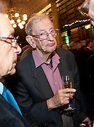 ERIC HOBSBAWM, 30th Anniversary of the London Review of Books.  One Whitehall Place. ( National Liberal Club) London SW1. 29 October 2009