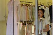 D Hai Ba Thrung. Salesgirl in a boutique.