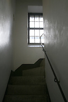 Stairway in Wicklow Gaol Museum Ireland