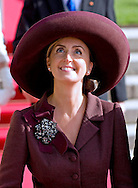"ROYAL HAT PARADE - PRINCESS CLAIRE OF BELGIUM.The Religious Wedding of HRH the Hereditary Grand Duke and Countess Stéphanie de Lannoy at the Cathedral of Our lady of Luxembourg, provided an opportune moment for the Royal Ladies to put on a hat show and they did not disappoint with their various styles, Luxembourg_20-10-2012.Mandatory credit photo: ©Dias/NEWSPIX INTERNATIONAL..(Failure to credit will incur a surcharge of 100% of reproduction fees)..                **ALL FEES PAYABLE TO: ""NEWSPIX INTERNATIONAL""**..IMMEDIATE CONFIRMATION OF USAGE REQUIRED:.Newspix International, 31 Chinnery Hill, Bishop's Stortford, ENGLAND CM23 3PS.Tel:+441279 324672  ; Fax: +441279656877.Mobile:  07775681153.e-mail: info@newspixinternational.co.uk"