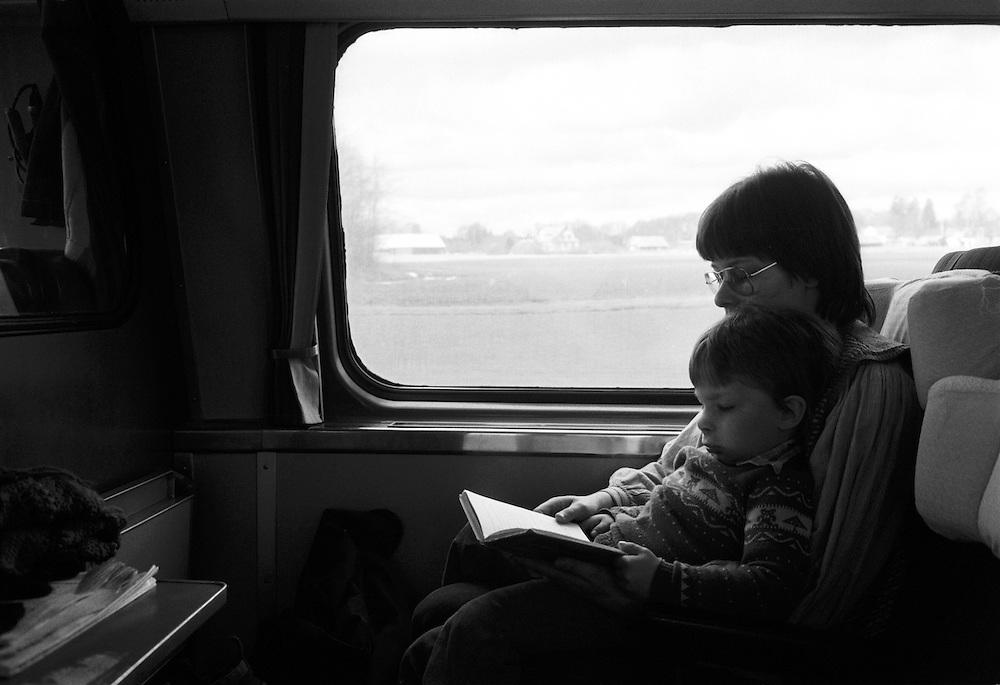 Vi åker tåg i Blekinge