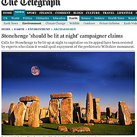 Stonehenge, Wilshire, England, The Daily Telegraph