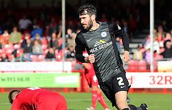 Peterborough United's Michael Smith celebrates scoring the equalising goal - Photo mandatory by-line: Joe Dent/JMP - Mobile: 07966 386802 - 11/10/2014 - SPORT - Football - Crawley - Checkatrade.com Stadium - Crawley Town v Peterborough United - Sky Bet League One