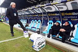 """Foto Filippo Rubin<br /> 06/01/2018 Ferrara (Italia)<br /> Sport Calcio<br /> Spal - Lazio - Campionato di calcio Serie A 2017/2018 - Stadio """"Paolo Mazza""""<br /> Nella foto: WALTER MATTIOLI (PRESIDENTE SPAL) CON DAVIDE VAGNATI E LEONARDO SEMPLICI (ALLENATORE SPAL)<br /> <br /> Photo by Filippo Rubin<br /> January 06, 2018 Ferrara (Italy)<br /> Sport Soccer<br /> Spal vs Lazio - Italian Football Championship League A 2017/2018 - """"Paolo Mazza"""" Stadium <br /> In the pic: WALTER MATTIOLI (PRESIDENTE SPAL) DAVIDE VAGNATI E LEONARDO SEMPLICI (ALLENATORE SPAL)"""