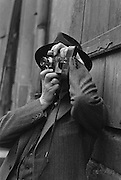 E.O. Hoppé self portrait with camera, c1936