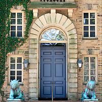 Entrance to Nassau Hall, Princeton University