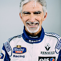 F1 Racing Magazine<br /> Damon Hill is reunited with his championship winning FW18 from 1996<br /> 4th November 2016<br /> Silverstone South Circuit.<br /> Images Copyright Malcolm Griffiths<br /> 07768 230706<br /> www.malcolm.gb.net