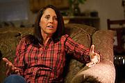 Ellen Hensley, mother of the slain Jerrica Christensen, speaks about her family's painful ordeal and legal battles in her Leeds home, Thursday, Dec. 6, 2012.