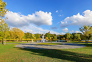 Music Court, Branch Brook Park is a county park of Essex County, Newark, New Jersey designed by Frederick Law Olmsted, First County Park in USA