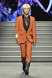 May 25, 2019 - Turin, italy - Turin. HOAS Event: Tom Rebel fashion show in the photo: model (Credit Image: © Riccardo Giordano/IPA via ZUMA Press)