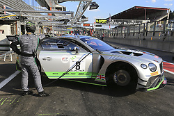 July 27, 2018 - Spa, Belgique - 8 BENTLEY TEAM M SPORT (GBR) BENTLEY CONTINENTAL GT3 PRO CUP ANDY SOUCEK (ESP) MAXIME SOULET (BEL) VINCENT ABRIL  (Credit Image: © Panoramic via ZUMA Press)