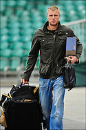 Andrew Freddie Flintoff arrives at Headingley on the 16th of July 2008..England v South Africa.Photo by Philip Brown.www.philipbrownphotos.com