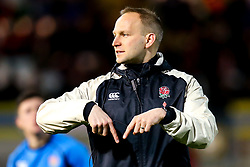 England U20 coach Richard Whiffin - Mandatory by-line: Robbie Stephenson/JMP - 15/03/2019 - RUGBY - Franklin's Gardens - Northampton, England - England U20 v Scotland U20 - Six Nations U20
