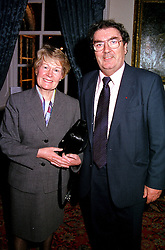 MR & MRS JOHN HUME, he is the MP at a reception in London on 9th November 2000.OIX 70