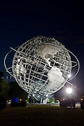 New York City: The Unisphere, in Flushing Meadows Park, Queens.
