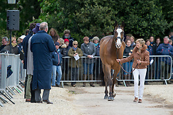 Harwood Louise, (GBR), Mr Potts<br /> First Horse Inspection - Mitsubishi Motors Badminton Horse Trials <br /> Badminton 2015