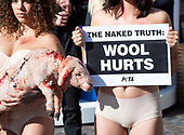 PETA Wool Protest 11th October 2018