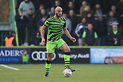 Forest Green Rovers Farrend Rawson(6) on the ball during the EFL Sky Bet League 2 match between Forest Green Rovers and Plymouth Argyle at the New Lawn, Forest Green, United Kingdom on 16 November 2019.