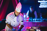 Chef Franco from the Westin Hotels in Ottawa prepares food for the 2017 Ottawa Hospital Foundation Gala.