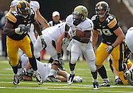 September 17, 2011: Pittsburgh Panthers running back Ray Graham (1) on a run during the first half of the game between the Iowa Hawkeyes and the Pittsburgh Panthers at Kinnick Stadium in Iowa City, Iowa on Saturday, September 17, 2011. Iowa defeated Pittsburgh 31-27.