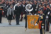 de bijzetting van het stoffelijk overschot van Zijne Koninklijke Hoogheid Prins Bernhard te Delft zaterdag 11 december 2004.