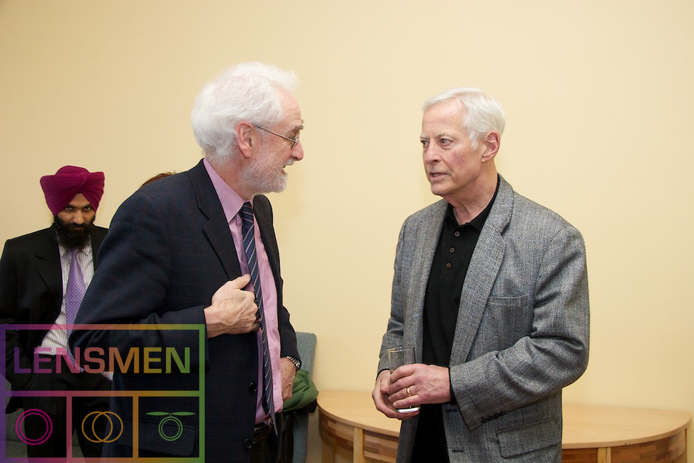 Lensmen Photographic Agency in Dublin, Ireland.<br /> Brian Tracy in Trinity Collage,Brian Tracy is Chairman and CEO of Brian Tracy International, a company specializing in the training and development of individuals and organizations.