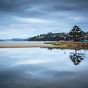 Reflections over Kingston Beach, Tasmania