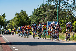 Peloton with Laurens ten Dam and Sam Oomen of Team Sunweb at 2018 National Road Race Championships Netherlands for Men Elite, Hoogerheide, The Netherlands, 1 July 2018. Photo by Pim Nijland / PelotonPhotos.com | All photos usage must carry mandatory copyright credit (Peloton Photos | Pim Nijland)