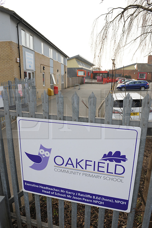 &copy; Licensed to London News Pictures. 11/03/2016<br /> Over 600 pupils are absent from a Dartford school after a norovirus breakout. <br /> The highly contagious illness, which causes diarrhoea and vomiting, has hit Oakfield Community Primary School in DARTFORD,KENT and more than 90 per cent of the700 pupils are off TODAY. <br /> The school will have a &ldquo;deep clean&rdquo; tomorrow and is expected to have most of its pupils back on Monday. <br /> Executive head teacher Garry Ratcliffe said: &ldquo;We have had an increasing number of absent children this week &ndash; it reached a crisis where over 100 pupils were off school.  &ldquo;We then took the decision to give parents the option to keep their children at home today if they wanted to. <br /> <br />  (Byline:Grant Falvey/LNP)