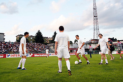 "The last game of Slovenian ""golden team"" at Bezigrad stadion for football made by Joze Plecnik in year 1935, before rebuilded in 2008. The match was held on June 18, 2005. (Photo by Vid Ponikvar / Sportal Images).."