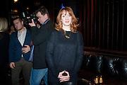 ELIZABETH BERRINGTON, Absent Friends - press night  afterparty. Mint Leaf. Haymarket. London. Thursday 9 February 2012