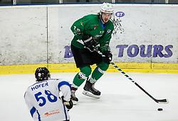 Janez Orehek of SZ Olimpija during ice hockey match between HK SZ Olimpija and WSV Sterzing Broncos Weihenstephan (ITA) in Round #12 of AHL - Alps Hockey League 2018/19, on October 30, 2018, in Hala Tivoli, Ljubljana, Slovenia. Photo by Vid Ponikvar / Sportida