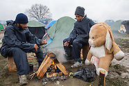 Refugees stucked in Idomeni, 15.03.16